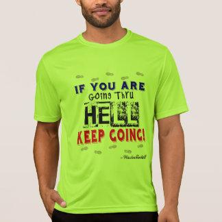 Going Through Hell - Sport-Tek SS Running T-Shirt