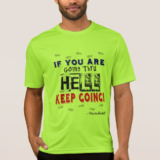 Going Through Hell - Sport-Tek SS Running T-Shirt