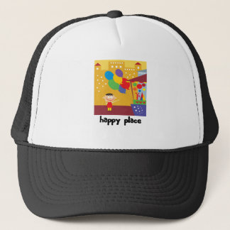Going To A Happy Place Trucker Hat