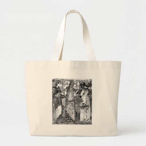Going to battle canvas bags