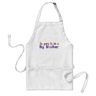 Going to be a Big Brother Adult Apron