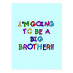 Going to be a Big Brother Tshirts and Gifts Post Card