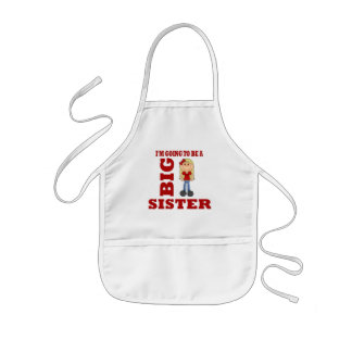Going to be a Big Sister Kids' Apron