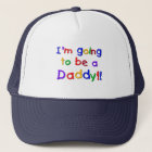 Going to be a Dad-Primary Colors Trucker Hat