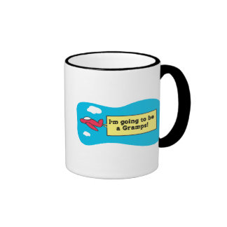 Going to be a Gramps! Ringer Coffee Mug