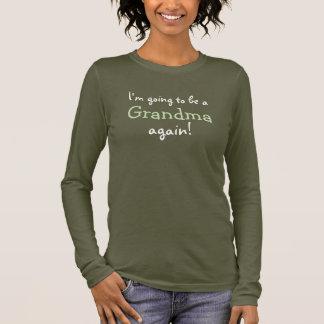 Going to be a Grandma Again - Dark Shirt Design