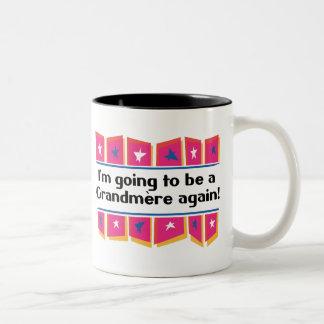 Going to be a Grandmere Again! Two-Tone Coffee Mug