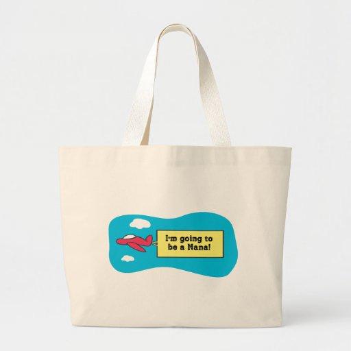 Going to be a Nana! Jumbo Tote Bag