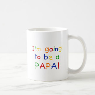 Going to be a Papa - Primary Colors Coffee Mug