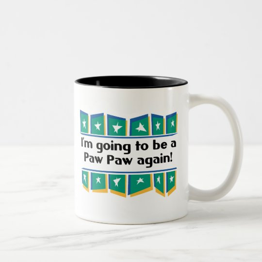 Going to be a PawPaw again! Two-Tone Coffee Mug