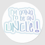Going to be an Uncle Tshirts and Gifts Sticker