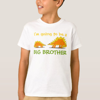 Going to be Big Brother Cute Stegosaurus Dinosaurs T-Shirt