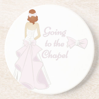 Going To Chapel Drink Coaster