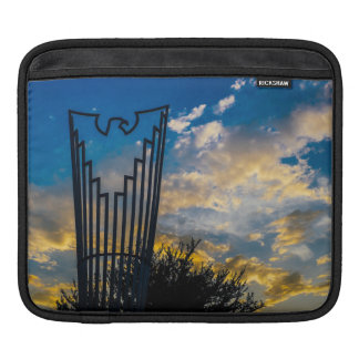 Going to fly and shine iPad sleeve