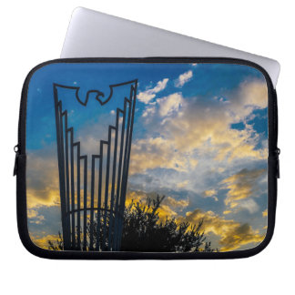 Going to fly and shine laptop sleeve