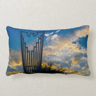Going to fly and shine lumbar pillow