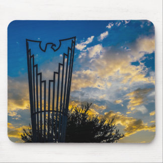 Going to fly and shine mouse pad