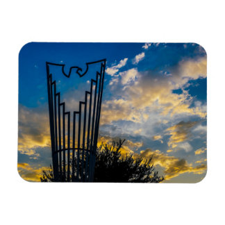 Going to fly and shine rectangular photo magnet