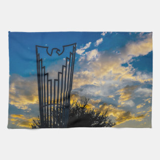 Going to fly and shine towel
