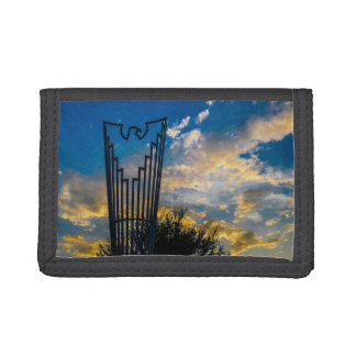 Going to fly and shine tri-fold wallets