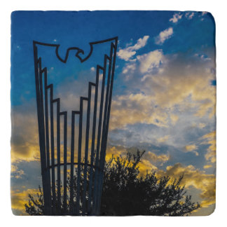 Going to fly and shine trivet