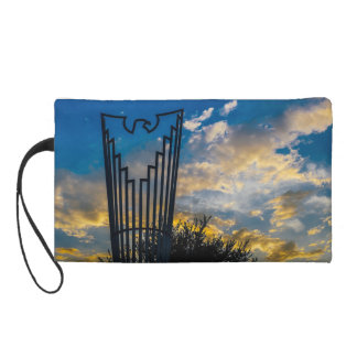 Going to fly and shine wristlet