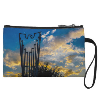 Going to fly and shine wristlet wallet