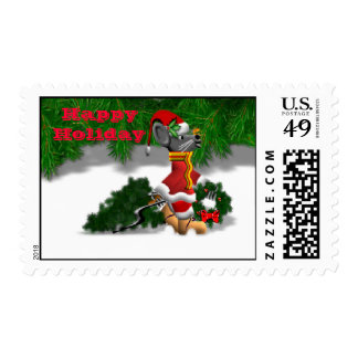 Going to get a Tree Postage