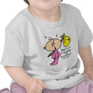 Going To Grandma's House Baby (Pink) Shirt