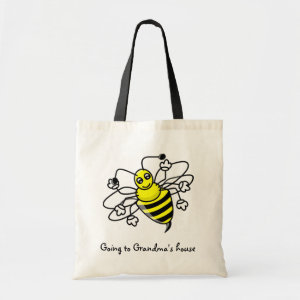 Going to Grandma's House Tote Bag bag