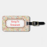 Going To Grandma's Luggage Tag