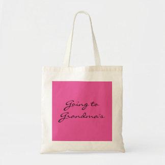 Going to Grandma's - Small Tote Bag