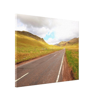 Going to Highlands, Scotland Canvas Print
