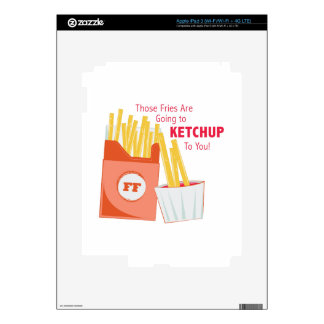 Going To Ketchup iPad 3 Decal