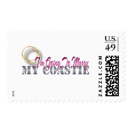 Going To Marry My Coastie Postage