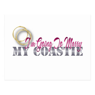Going To Marry My Coastie Postcard