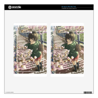 Going To School Kindle Fire Skin