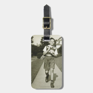 Going to School Luggage Tag