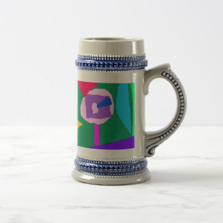 Going to Sea Foreign Country Shell Beach 18 Oz Beer Stein