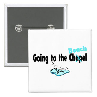 Going To The Beach - Customized Pinback Buttons