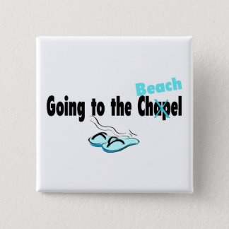 Going To The Beach - Customized Pinback Button