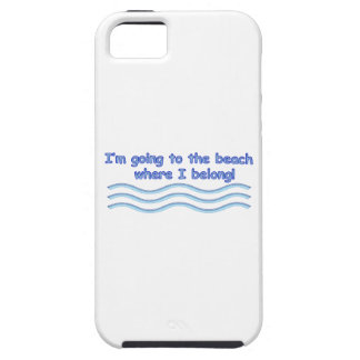 Going To The Beach iPhone SE/5/5s Case