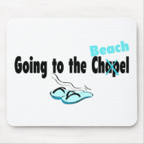 Going To The Beach Mouse Pad