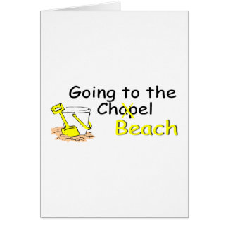 Going To The Beach (Pail) Card