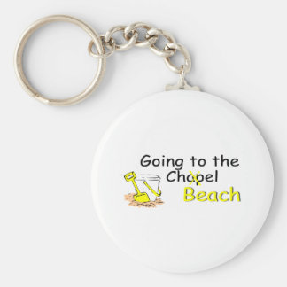 Going To The Beach (Pail) Keychain