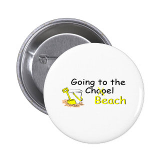 Going To The Beach (Pail) Pinback Button