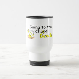 Going To The Beach (Pail) Travel Mug