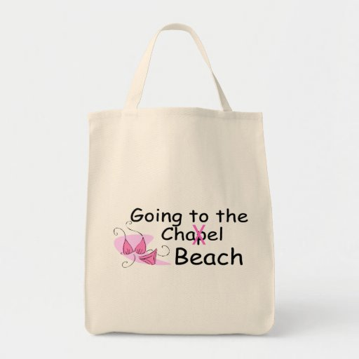 Going To The Beach (Swimsuit) Grocery Tote Bag