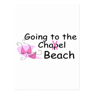 Going To The Beach (Swimsuit) Postcard