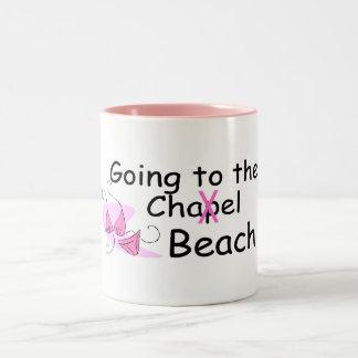 Going To The Beach (Swimsuit) Two-Tone Coffee Mug